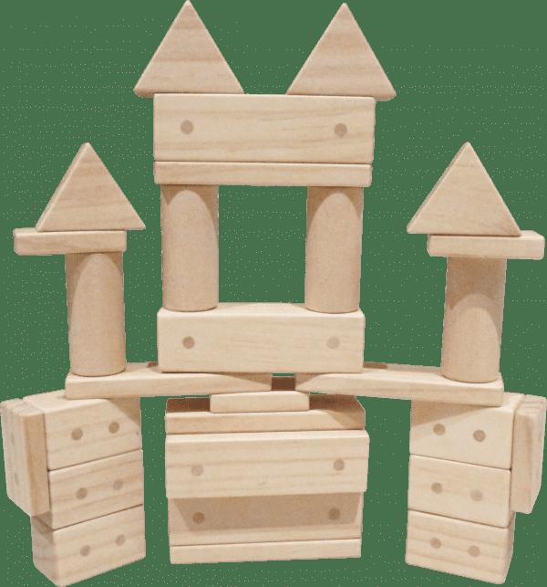 Magnetic Wooden Blocks 30pcs