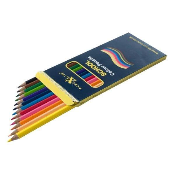 Nexus School Colour Pencils (Hexagonal)