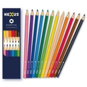 Nexus Essential Colour Pencils (Hexagonal)