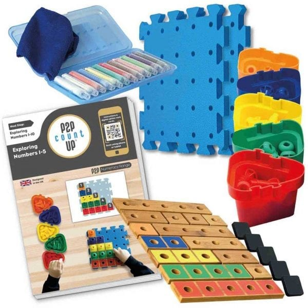 Pegs to Count Up 1-5 Set