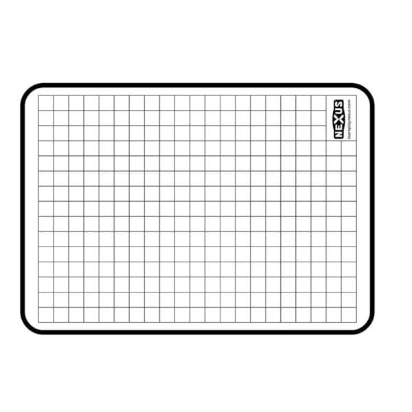 Nexus A4 Grid Writing Board (10 Pack)