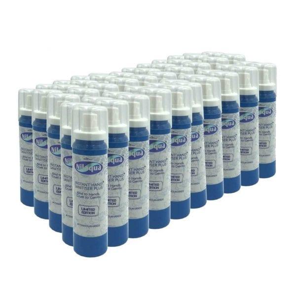 Nilaqua Hand Sanitiser – 100ml Spray (50 Pack)