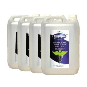 Nilaqua Surface Spray – 5L Refills (4 Pack)