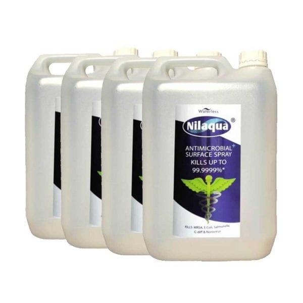 Nilaqua Surface Spray – 5L Refills (4 Pack)