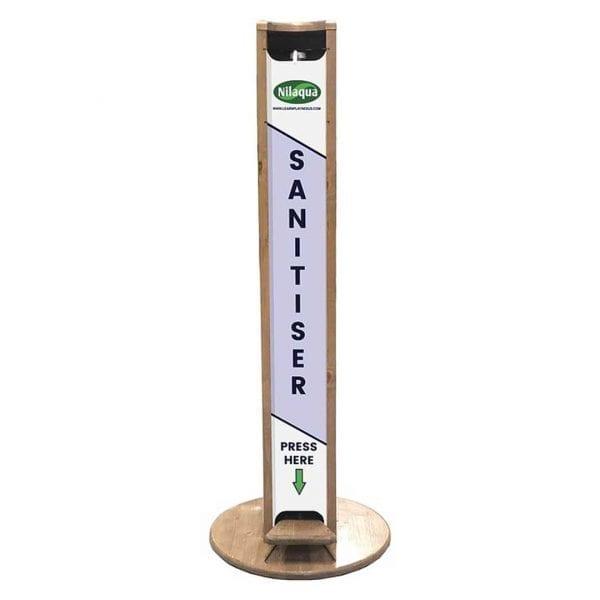 Hands Free Sanitiser Dispenser Stands – Large