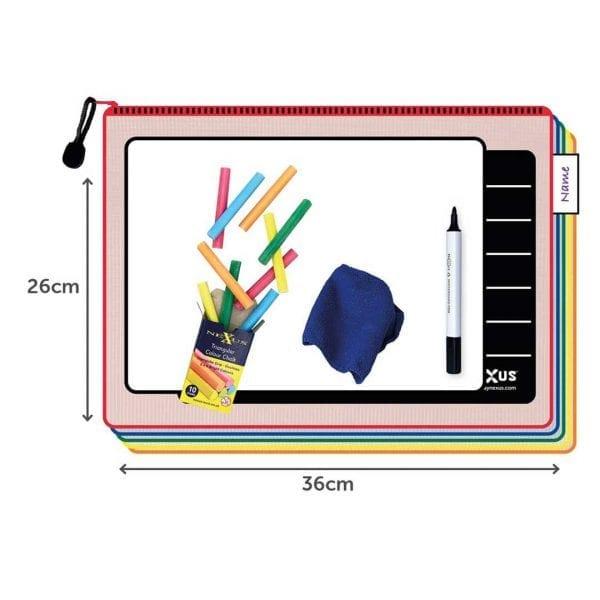 Nexus A4 Writing Board Essential Kit – 26cm x 36cm (30 Pack)