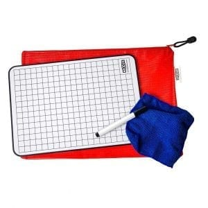 Nexus A4 Grid Writing Board Essential Kit – 26cm x 36cm (30 Pack)