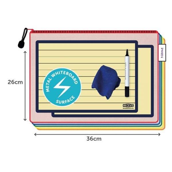 Nexus A4 Magnetic Buff Board Essential Kit – 26cm x 36cm (30 Pack)