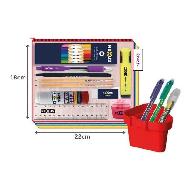 Nexus Juniors Essential Kit – 18cm x 22cm – Black Pen  (30 Pack)