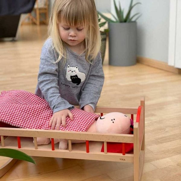 Nexus Wooden Doll Cradle