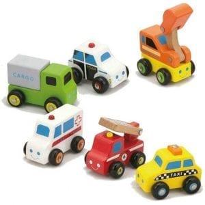 Nexus Wooden Vehicle Set