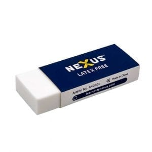 Nexus Latex Free Erasers