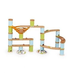 Nexus Bamboo Marble Run (89 Piece Set)
