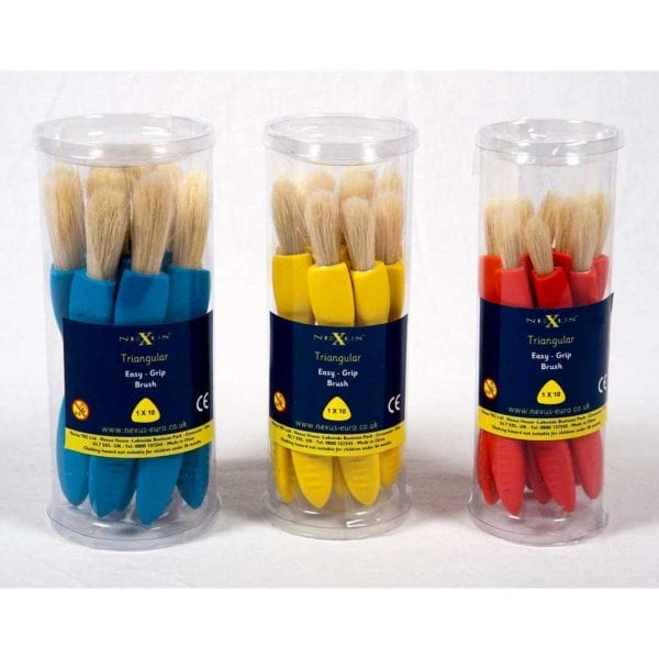 Nexus Jumbo Triangular Paint Brushes