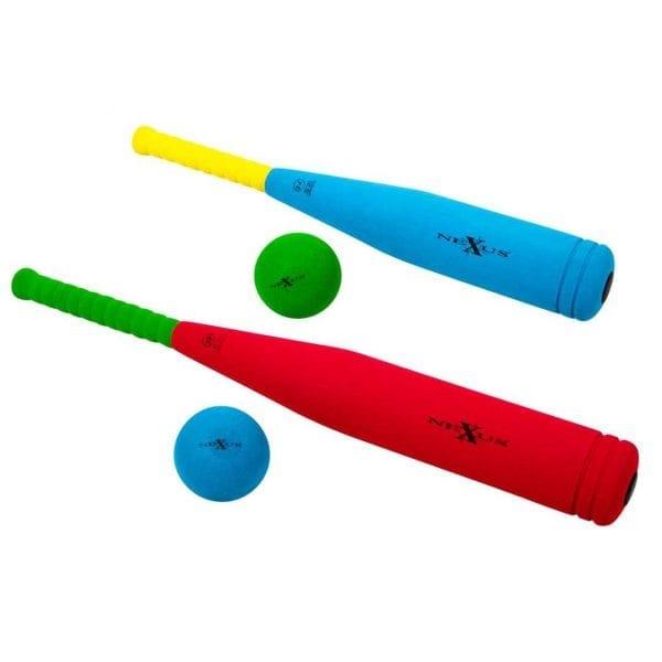 Nexus Rounders Bat & Ball (24″)