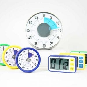 Nexus Magentic Count Away & LCD Digital Timers Class Set