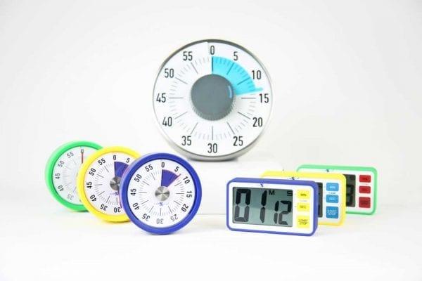 Nexus Magentic Count Away & LCD Digital Timers Class Set