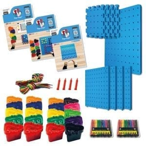 Pegs to Paper Step 1, 2 & 3 Nursery Set (A)