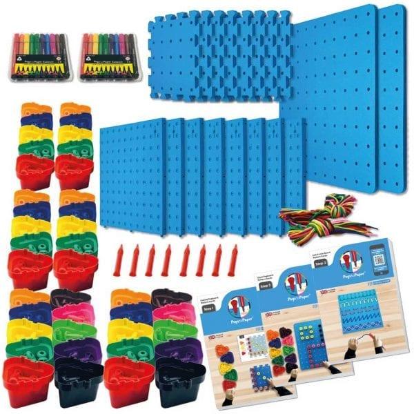 Pegs to Paper Step 1, 2 & 3 Nursery Set (B)