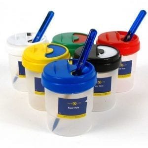 Nexus Paint Pot & Brush Set