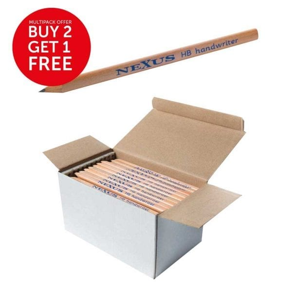 Nexus Triangular HB Handwriter (Box of 144)
