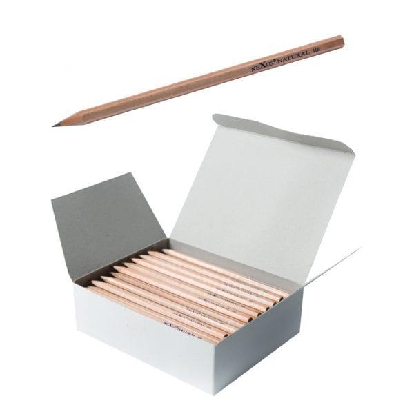 Nexus Hexagonal HB Basswood Pencils (Box of 144)