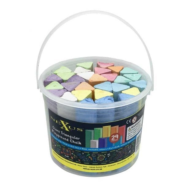 Nexus Giant Triangular Playground Chalk
