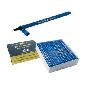 Nexus Triangular Handwriters Blue – 166mm (100 Pack)