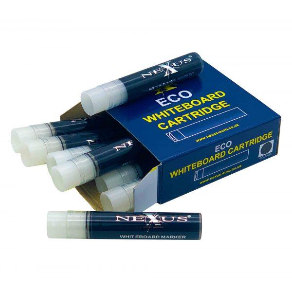 Nexus ECO Whiteboard Cartridges – Black (Box of 10)