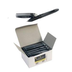 Nexus Erasable Gel Black Pens (50 Pack)