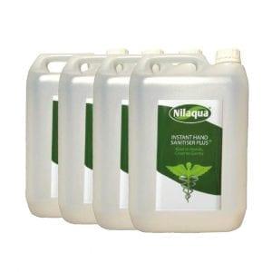Nilaqua Hand Sanitiser – 5L Refills (4 Pack)