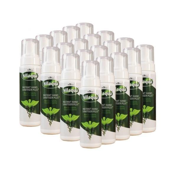 Nilaqua Hand Sanitiser – 200ml Foamer (20 Pack)