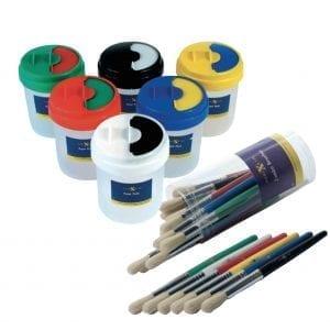 Nexus Paint Pot & Brush Set