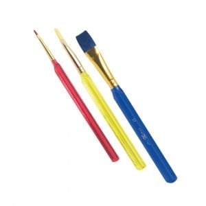 Nexus Triangular Paint Brushes (Flat Ended)