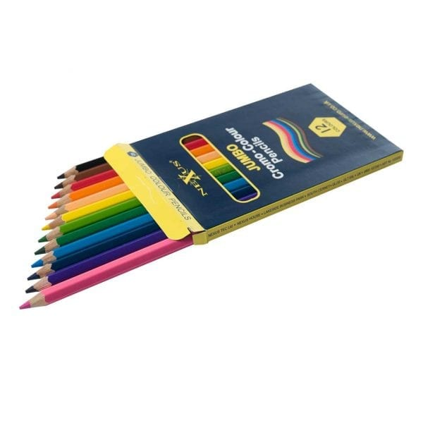 Nexus Jumbo Cromo-Colour Pencils  (Hexagonal) – Class Set
