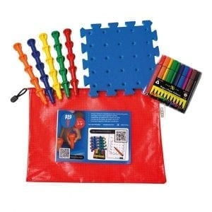 P2P for Literacy Step 1 Kit Bag (without pots, with QR code)