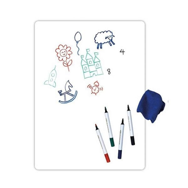 Whiteboard Magnetic Sheet and Whiteboard Pens Set