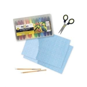 Nexus Silky Pastels Activity Pack