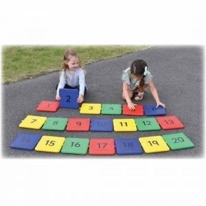 Interactive Giant Garden Numberline