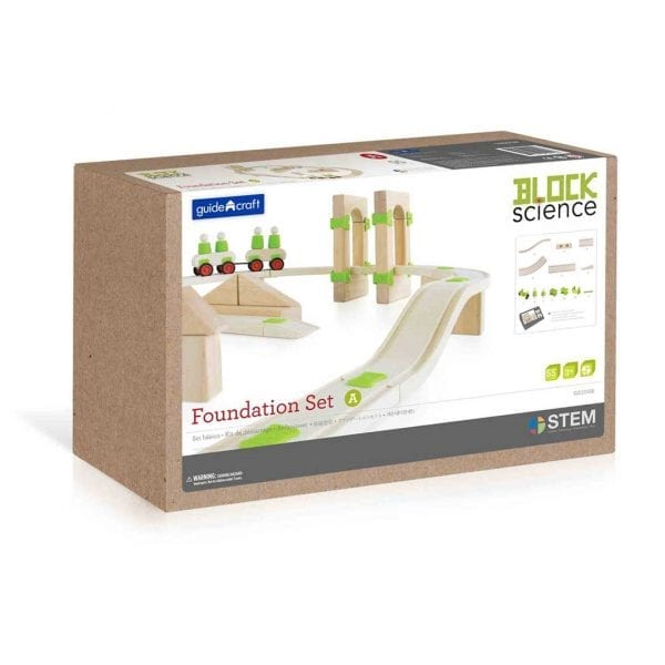 Block Science Foundation Set A – 55pcs