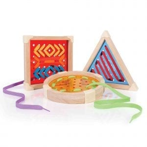 Geo Shape Lacing Set