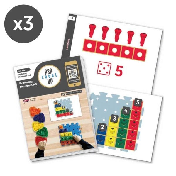 P2P for Numeracy Count Up Class Pack
