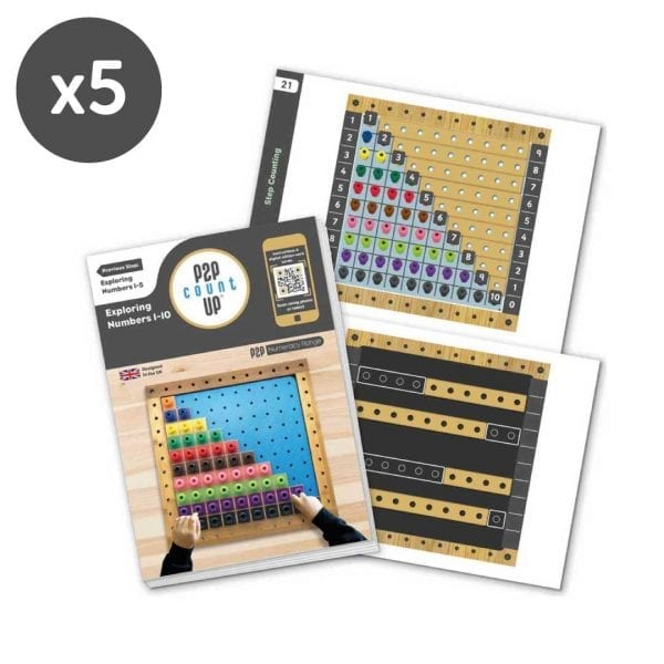 Pegs to Count Up Year Group Pack
