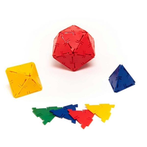 Polydron Bulk Sets 100 Equilateral Triangles