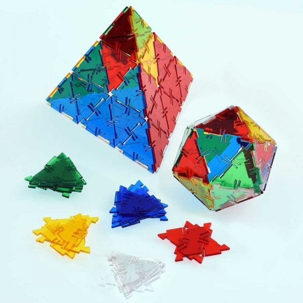 Crystal Polydron Bulk Sets 100 Equilateral Triangles
