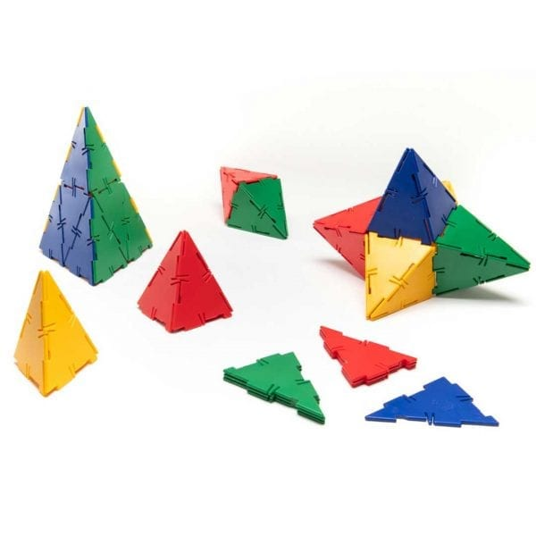 Polydron Bulk Sets 60 Isosceles Triangles
