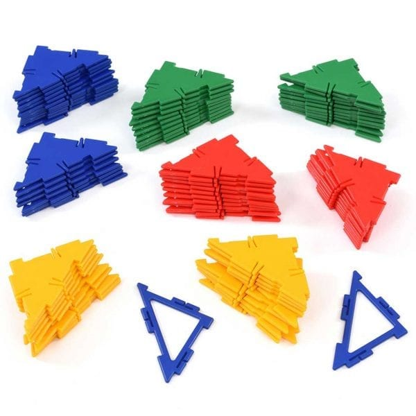 Polydron Bulk Sets 80 Right Angle Triangles