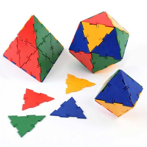 Polydron Bulk Sets 50 Large Equilateral Triangles