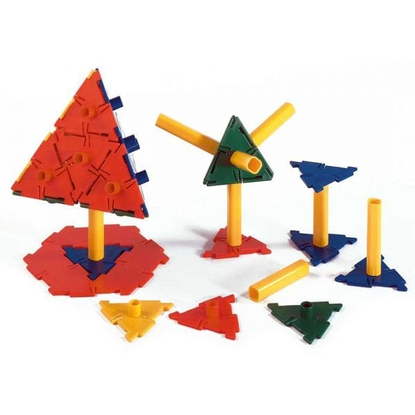 Polydron Bulk Sets 60 Triangles & 30 Struts