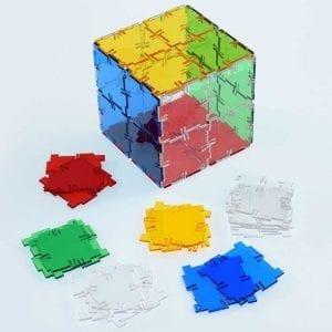 Crystal Polydron Bulk Sets 40 Squares